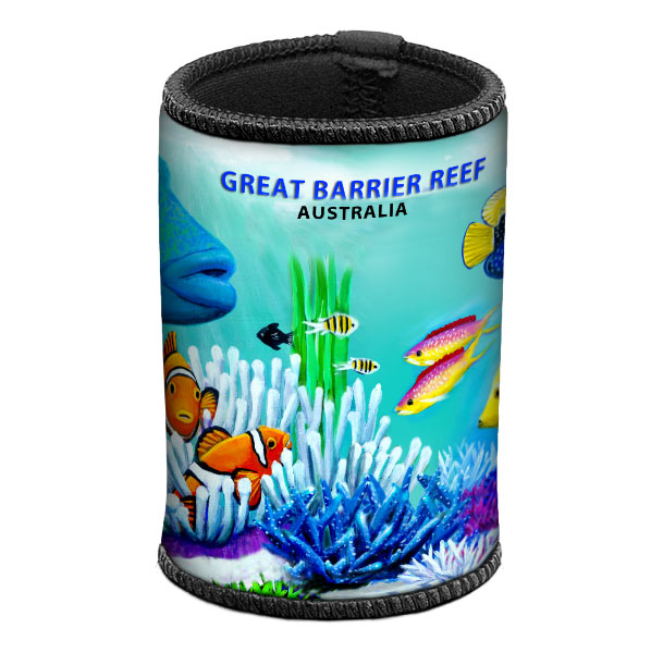 Wrasse & Clown Fish Can & Stubby Cooler