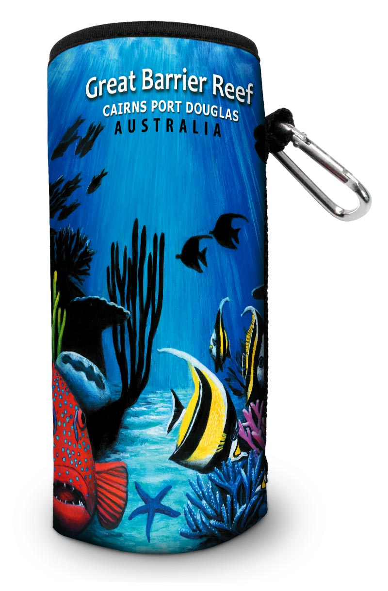 Fish Silhouette Water & Wine Bottle Cooler