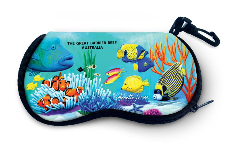 Reef Fish Glasses Case